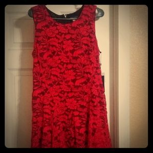 Tommy Hilfiger Red lace dress